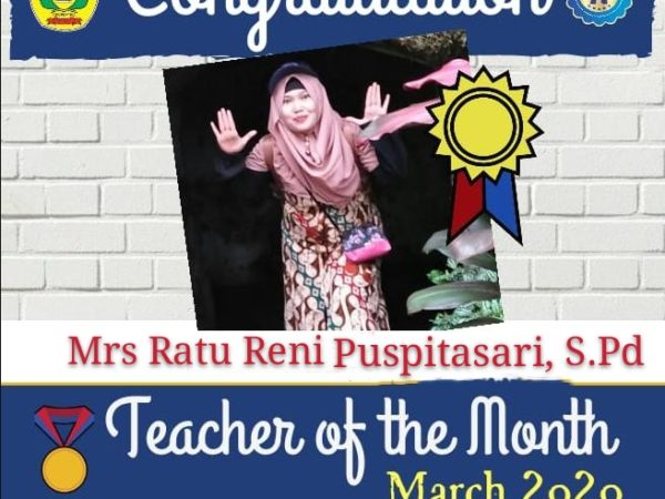 Teacher of the Month March 2020