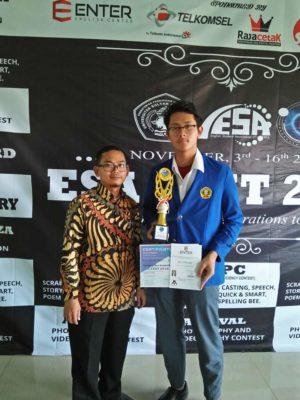 Juara I Spelling Bee Bahasa Inggris Provinsi Banten
