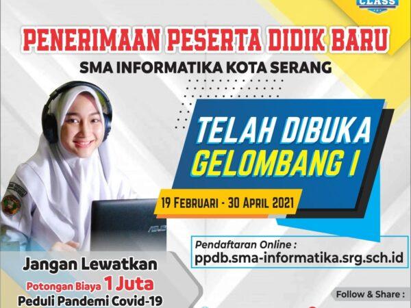 Pendaftaran Gelombang 1 Telah Dibuka, Pendaftaran Dilakukan Secara Online